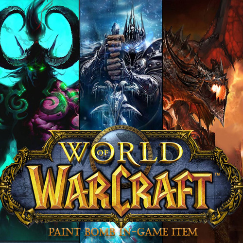 World of Warcraft Paint Bomb In-game Item Digital Download Price Comparison