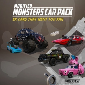 Wreckfest Modified Monsters Car Pack