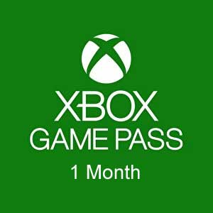 Xbox Game Pass 1 Month Xbox One Code Price Comparison