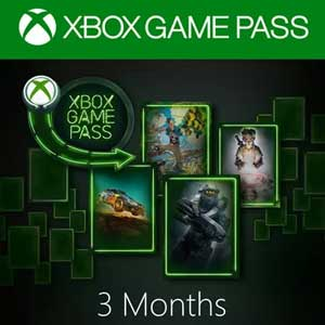Xbox Game Pass 3 Months Xbox One Digital & Box Price Comparison