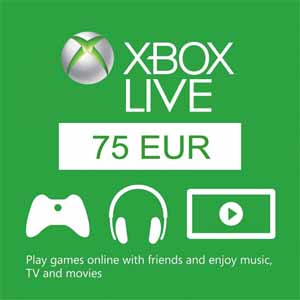 Xbox Live 75 Euros Gift Card Code Price Comparison