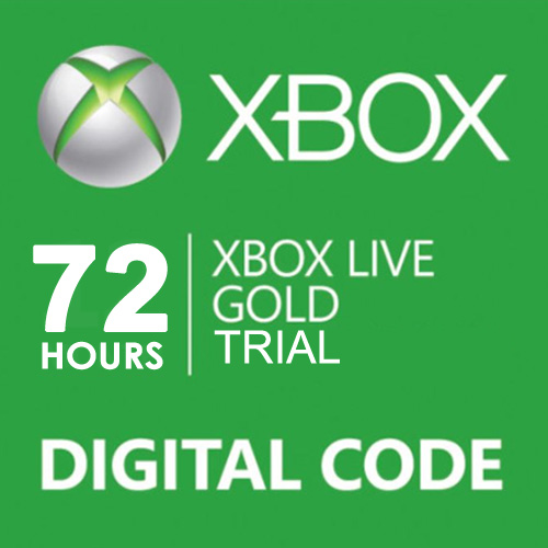 Purchase Xbox Live Gold 72 Hours Trial Code Price Comparison