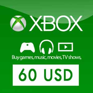 Xbox Live Gift Card 60 USD