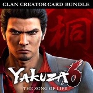 Yakuza 6 Song of Life Clan Creator Card Bundle