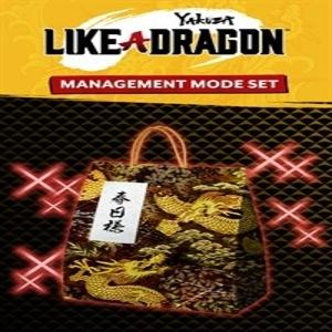 Yakuza Like a Dragon Management Mode Set