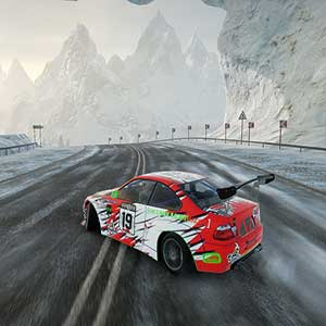 CarX Drift Racing Online Snowy Track