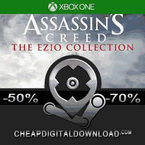 READ DESC NO KEY NO CD ASSASSINS CREED EZIO COLLECTION XBOX ONE OFFLINE