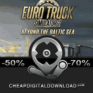 euro truck simulator 2 beyond the baltic sea digital. Black Bedroom Furniture Sets. Home Design Ideas