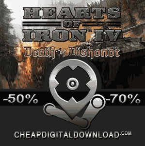 Hearts of Iron 4 Death or Dishonor Digital Download Price Comparison -  CheapDigitalDownload com