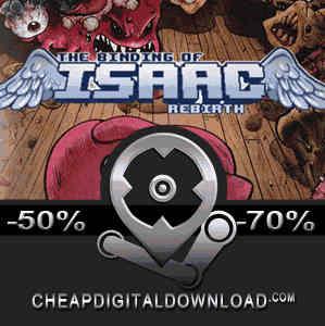 The Binding of Isaac Rebirth Digital Download Price Comparison -  CheapDigitalDownload com