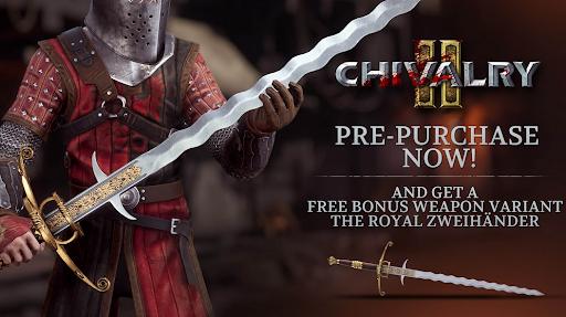 Chivalry 2 Pre Purchase Bonus