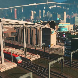 Cities Skylines Mass Railway Station
