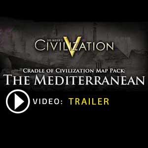 Civilization 5 Cradle of Civilization Map Pack Mediterranean Digital Download Price Comparison
