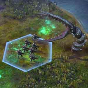 Civilization Beyond Earth - Battle with Alien Inhabitants