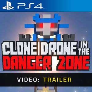 Clone Drone in the Danger Zone PS4 Video Trailer