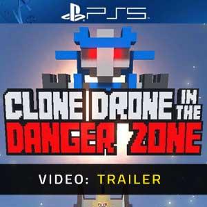 Clone Drone in the Danger Zone PS5 Video Trailer