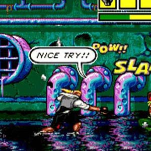 Comix Zone - Power Slam