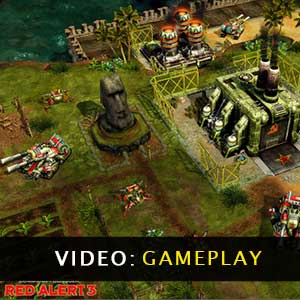 Command & Conquer Red Alert 3 Gameplay Video