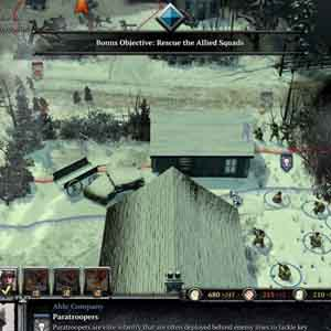 Company of Heroes 2 Ardennes Assault - Rescue the Allied Squads