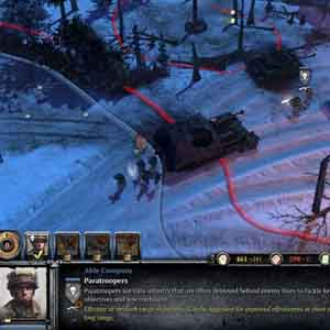 Company of Heroes 2 Ardennes Assault - Deploy Paratroopers