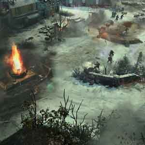 Company of Heroes 2 Ardennes Assault - Battle field