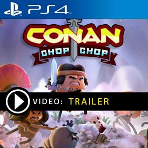 Conan Chop Chop PS4 Prices Digital or Box Editions