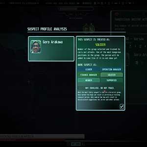 Suspect Profile Analysis
