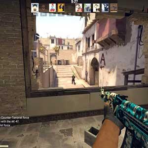 CSGO AK47 Skin Frontside Misty Sniper