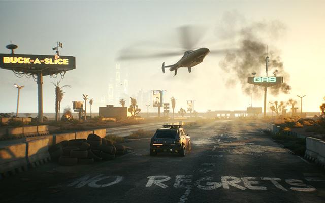 Cyberpunk 2077 location
