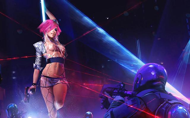 Cyberpunk 2077 Dancer