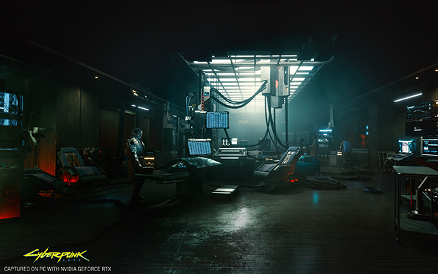 Cyberpunk 2077 lab