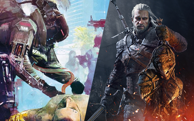 Cyberpunk 2077 and The Witcher 3 Wild Hunt