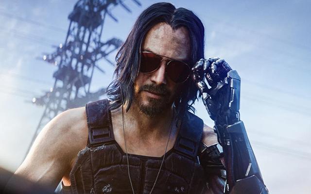 Cyberpunk 2077 Keanu Reeves character