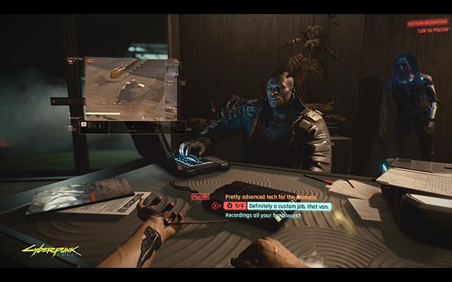 Cyberpunk 2077 advanced tech