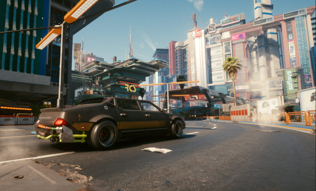 Cyberpunk 2077 vehicle