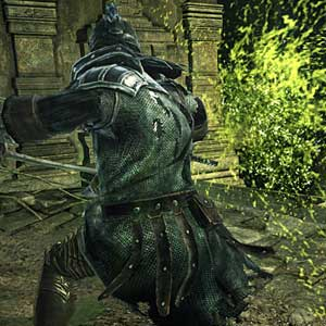 Dark Souls 2 Crown of the Sunken King Character