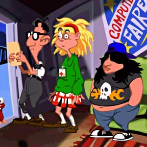Day Of The Tentacle Remastered - The Gang