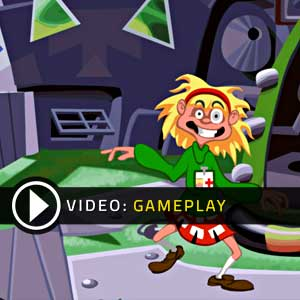 Day Of The Tentacle Remastered Gameplay Video