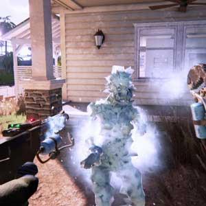 Dead Island 2 Frozen zombie