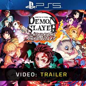 Demon Slayer Kimetsu no Yaiba The Hinokami Chronicles PS5 Video Trailer