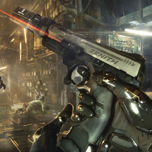 Deus Ex Mankind Divided PS4 - Pistol