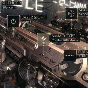 Deus Ex Mankind Divided - Weapons