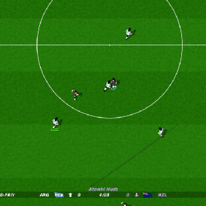 Dino Dinis Kick Off Revival Gameplay Image