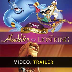 Disney Classic Games Aladdin and The Lion King