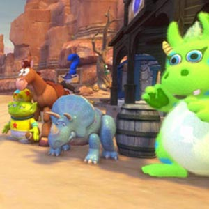 Disney Pixar Toy Story 3 The Video Game Car Race