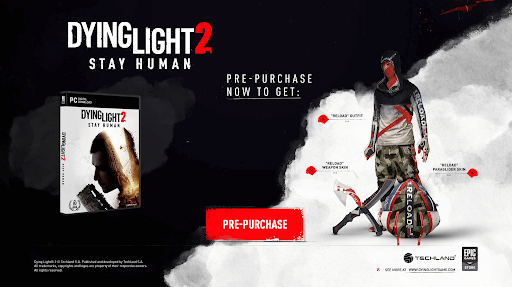 Dying Light 2 Stay Human Pre Purchase