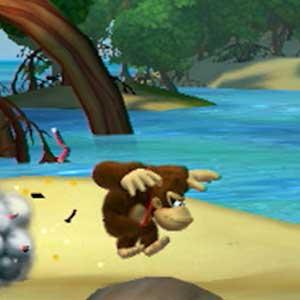 Donkey Kong Country Tropical Freeze Nintendo Wii U Jumping