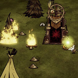 Gameplay of Don't Starve Together
