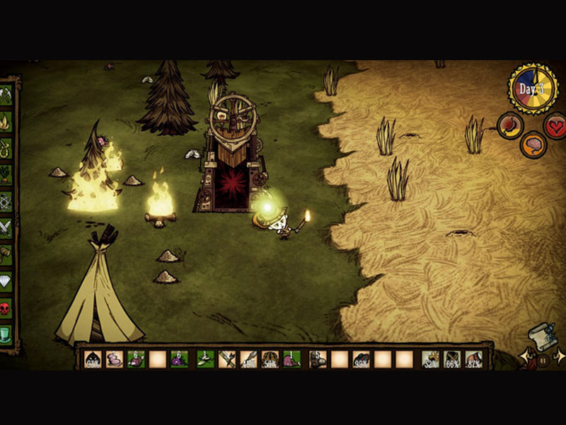 Fight Scene Don't Starve Together