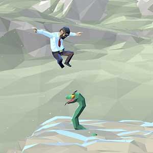Scape, run on the snake